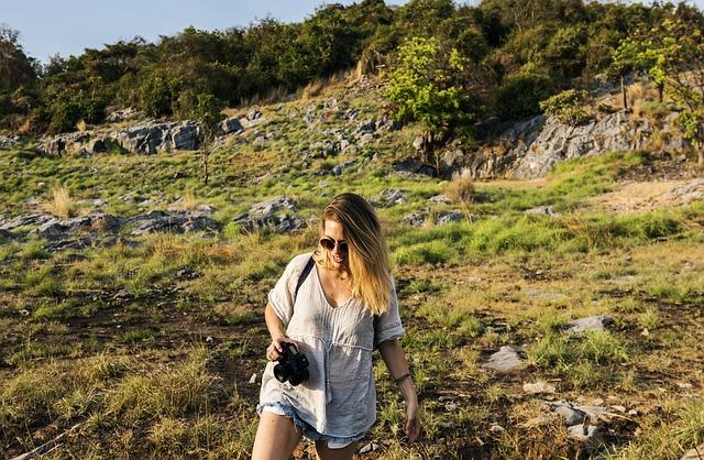 procházka v horách