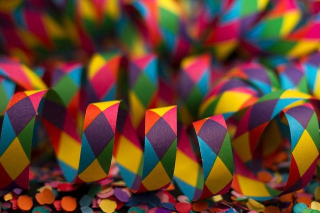 konfety na párty