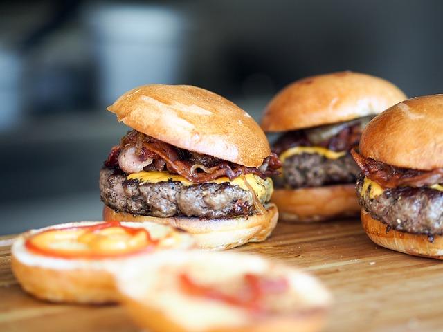 hamburgery na prkénku